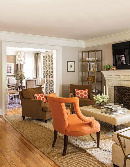21 Fresh Modern Living Room Designs: Benjamin Moore