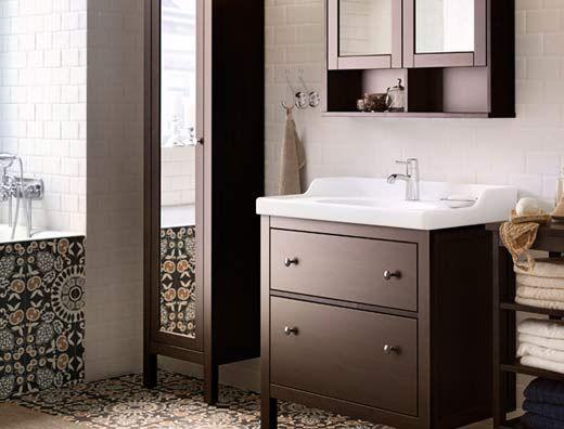 For An Alluring Bath Experience Bathroom Units Goodworksfurniture In 2020 Ikea Bathroom Bathroom Design Traditional Bathroom