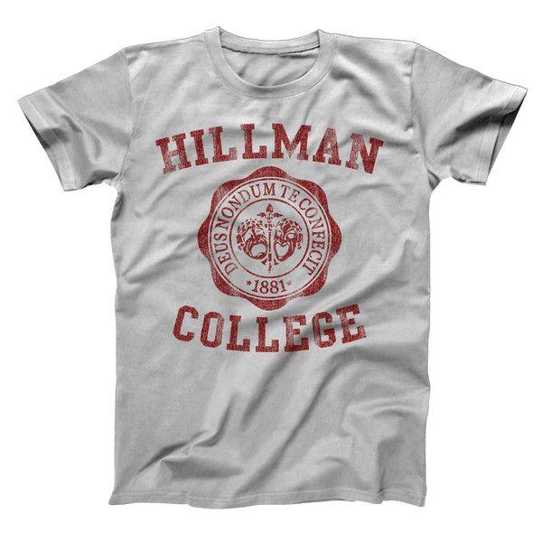 HILLMAN COLLEGE SEAL MAROON Men's T-Shirt