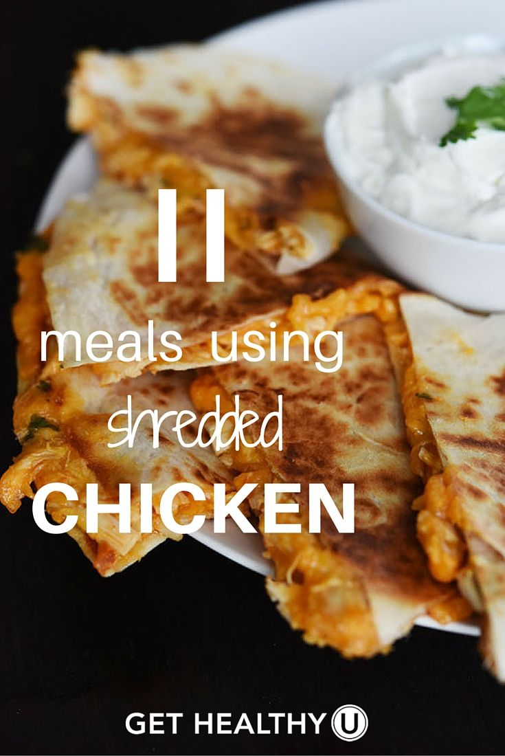 15 Healthy Shredded Chicken Recipes Get Healthy U Healthy Shredded Chicken Recipes Shredded