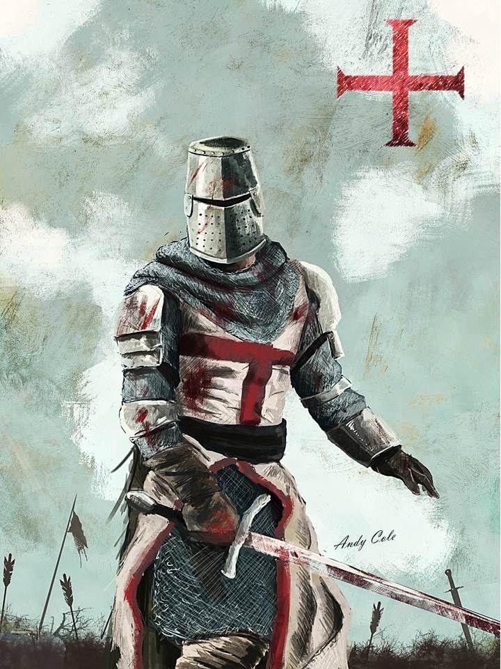 Картинка рыцари тамплиеры