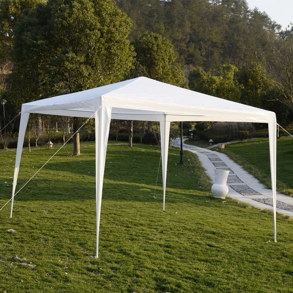 Inspirational Garten Zelt Pavillon Wasserdicht Flohmarkt Party Hochzeits Sonnen Regen Schutz