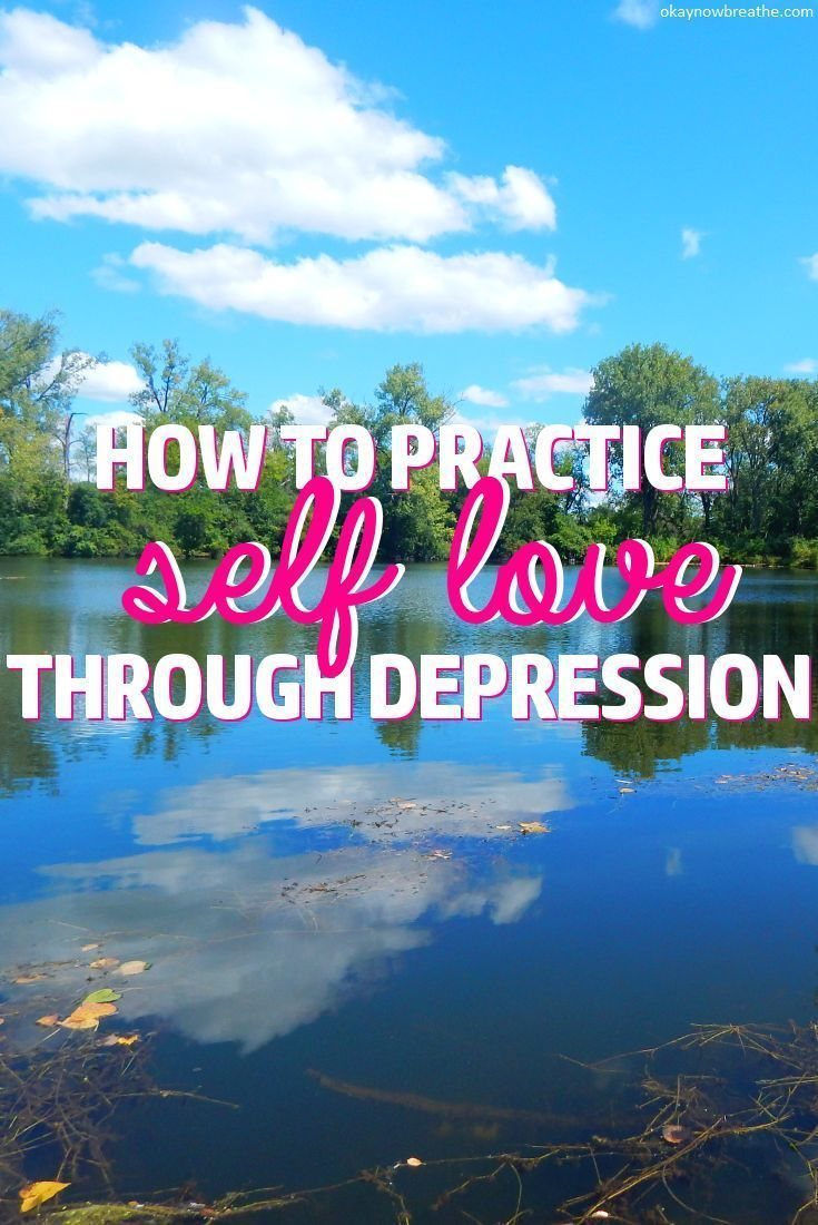 getting over depression on your own