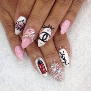 nailsbyly  user profile  instagrin  chanel nail art