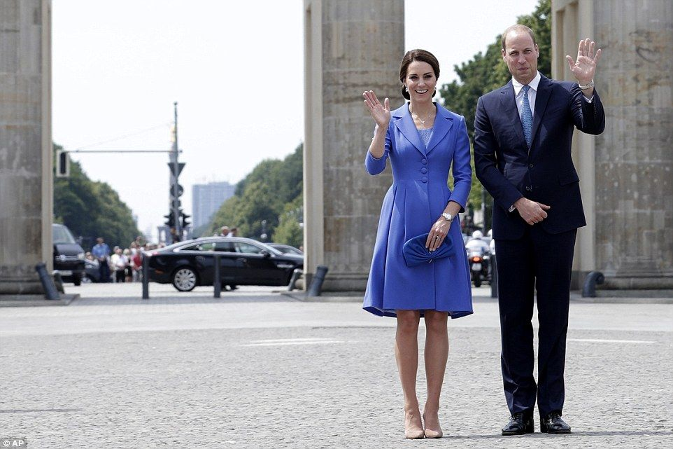 Kate Middleton Wears Alexander Mcqueen At Berlin Party Princess