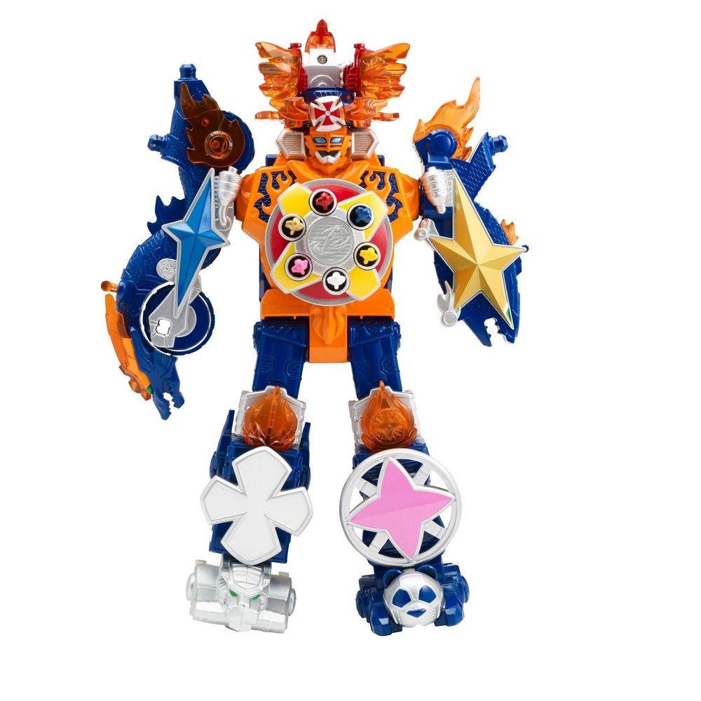 The Mighty Power Rangers Super Ninja Steel Megazords Combine The