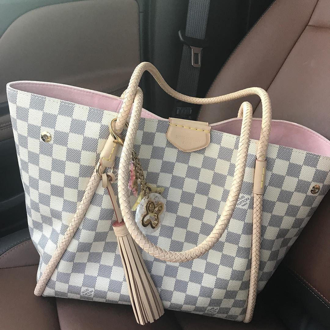 573235128d6 Louis Vuitton Propriano N44027 White, Best LV Damier Tote Bag For Fashion  Women. #Louis #Vuitton #handbags
