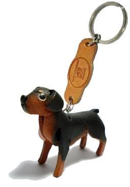 -----> Rottweiler - THEPSIRI CRAFT Keyring 3D Leather Animals design : Inspired by LnwShop.com