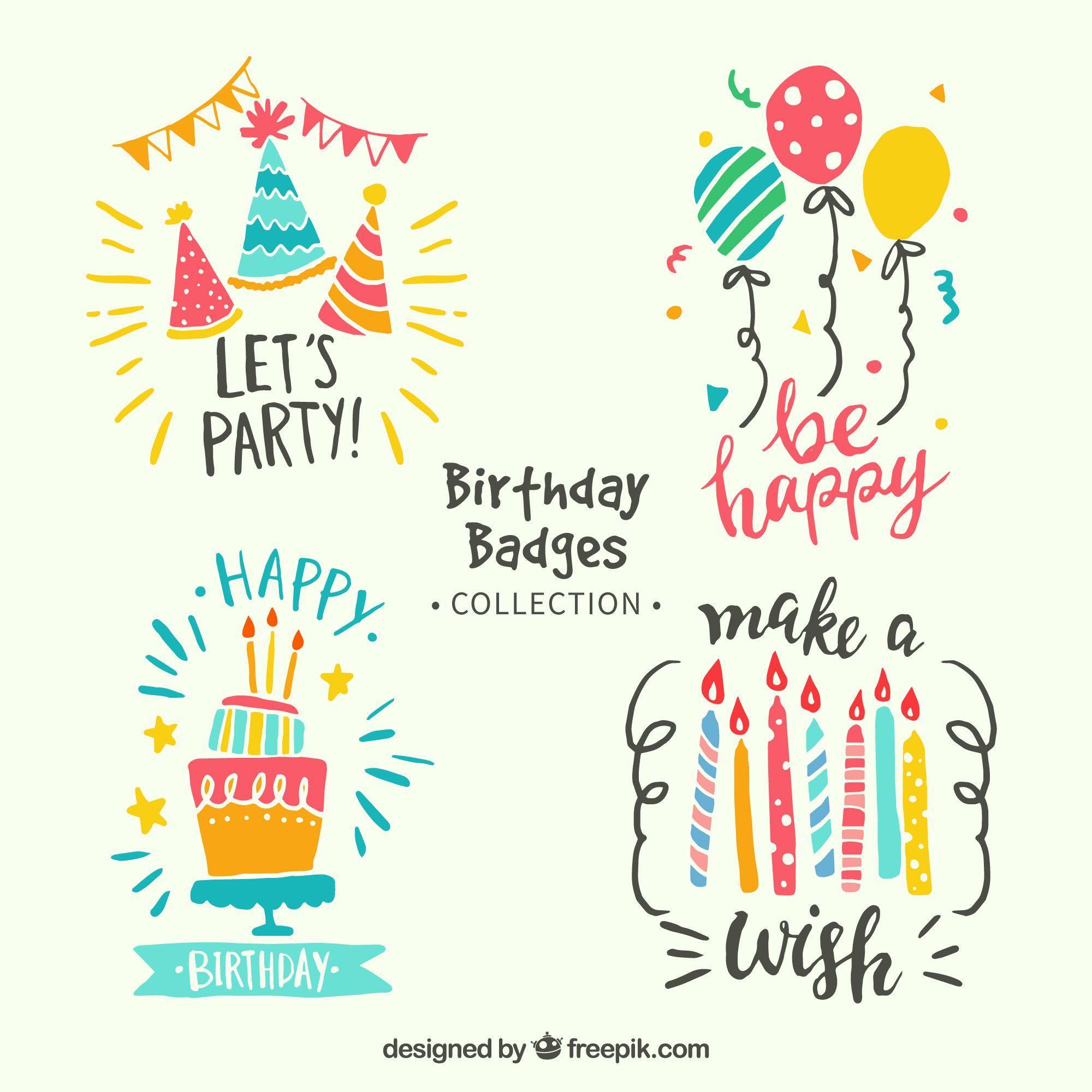 Aniversario Parabens Separadores Happybirthday Behappy