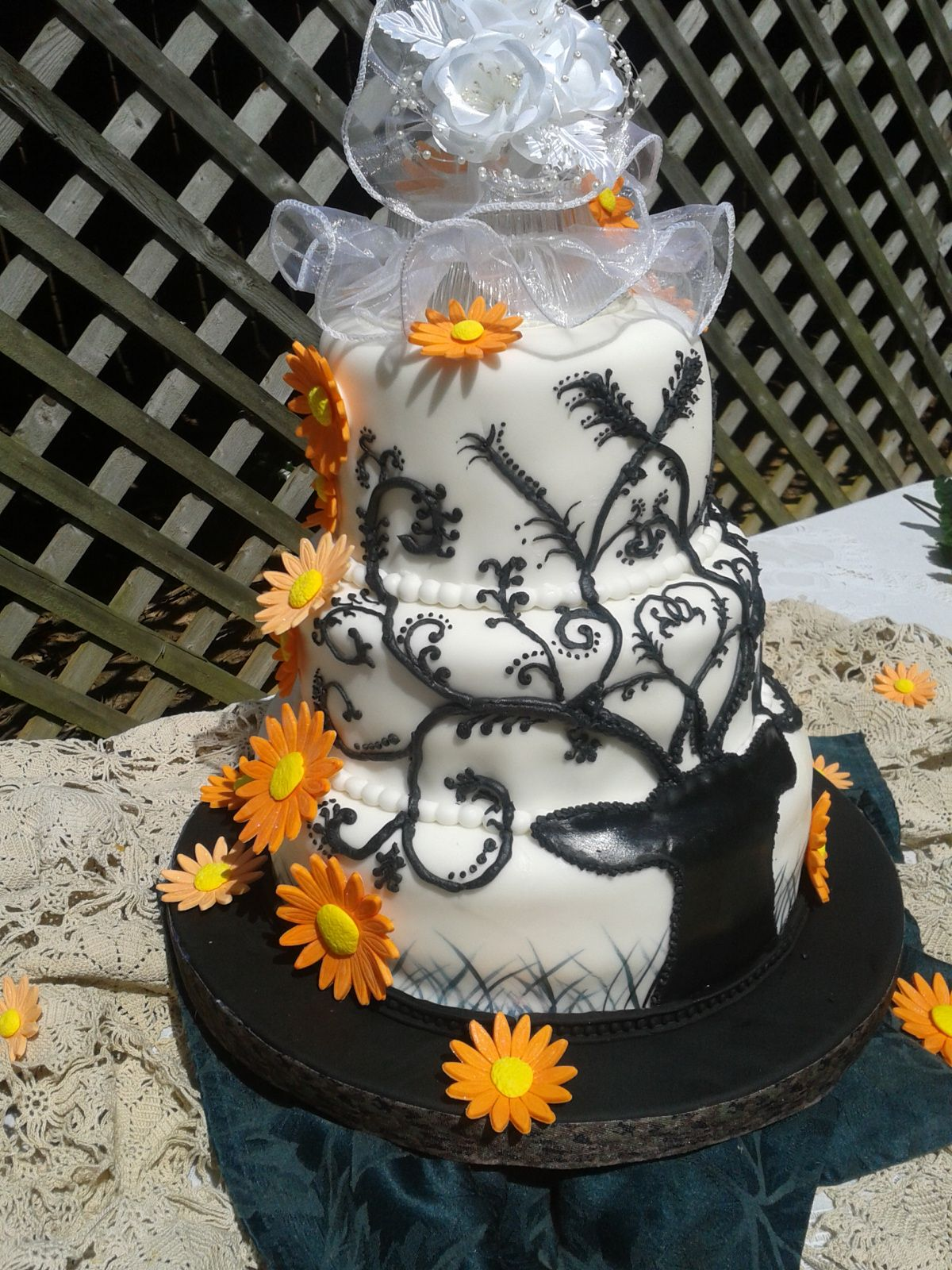 Camouflage Country Wedding