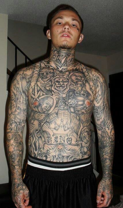 Full Body Tattoo Black And Grey Tatoos Dark Ink Black