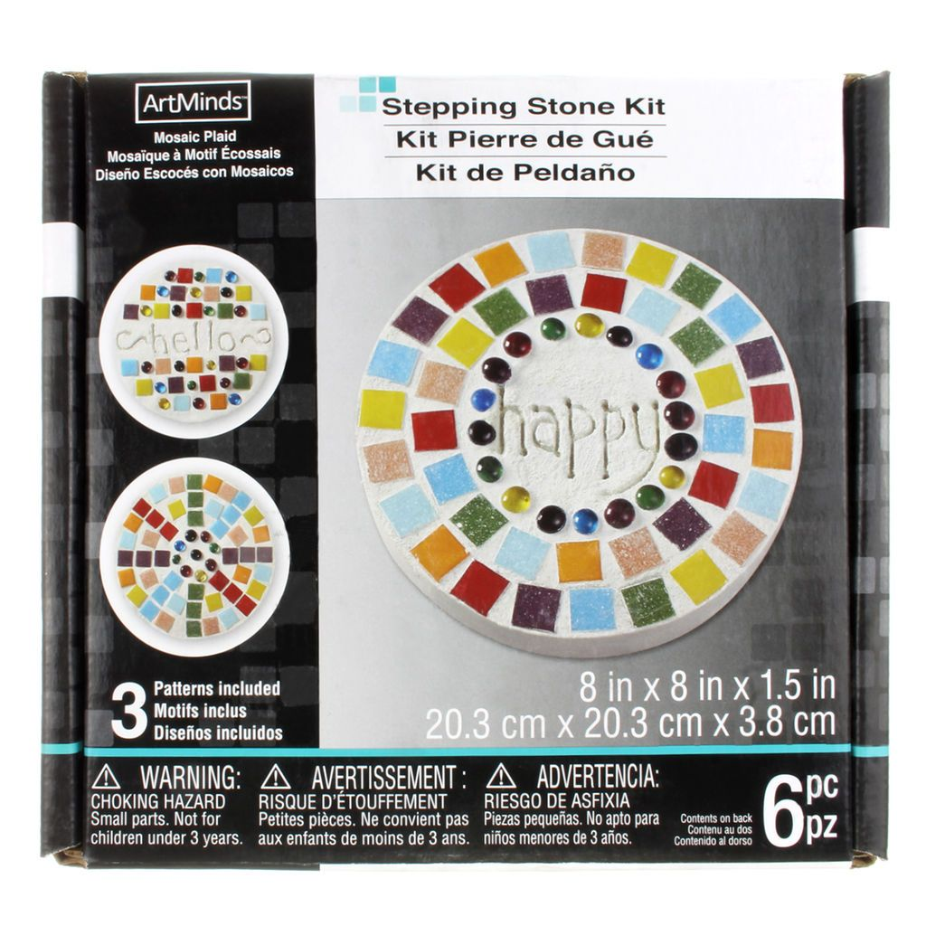 Round Stepping Stone Kit by ArtMinds™, 20
