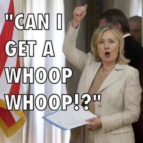 Go, Hillary!