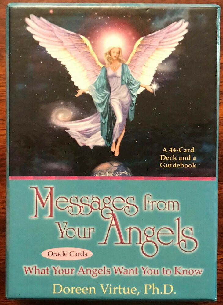 Messages from your angels 44 oracle cards guidebook by