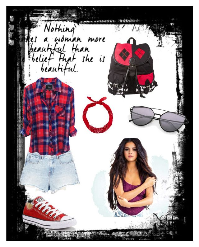 """""""Untitled #26"""" by maryam91-467 ❤ liked on Polyvore featuring Alexander Wang, New Look and Converse"""
