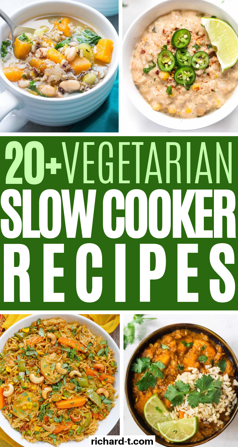 20+ Crockpot Vegetarian Recipes That'll Make Your Day images
