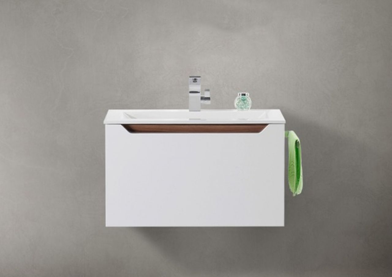 Waschtisch Mit Unterschrank, Badmöbel MONZA 80 Cm Grifflos, Intarbad Jetzt  Bestellen Unter: Https