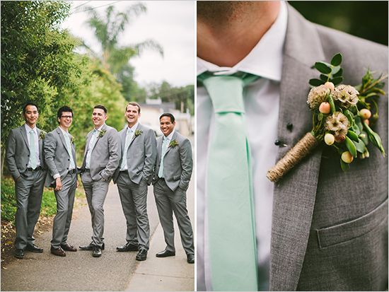Wild At Heart Wedding Gray Groomsmen Wedding Stuff And Wedding