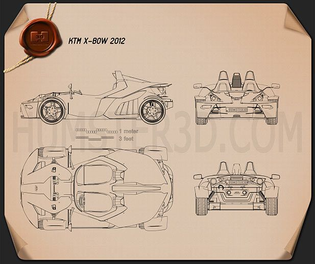 Ktm X Bow 2012 Blueprint Reference Pinterest Bows