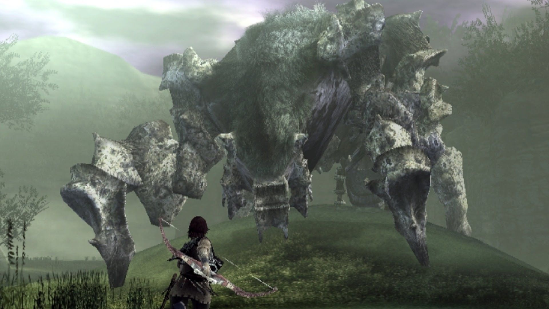 Shadow Of The Colossus Phaedra Boss Fight 4 On Ps3 See All The