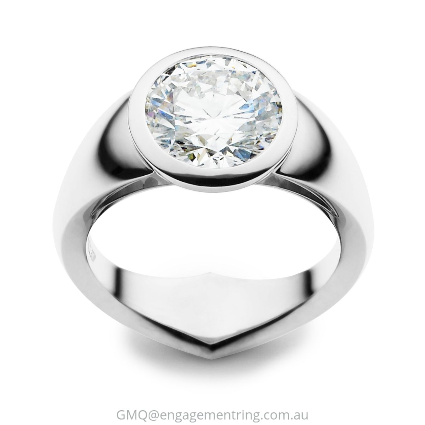 ring gabrielcorings shank contemporary rings with engagement cross white gold jewellery criss