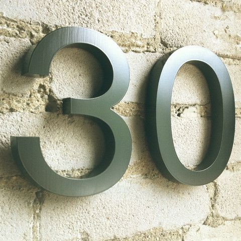 House Proud Signs and Numbers - HELVETICA Numbers & Letters