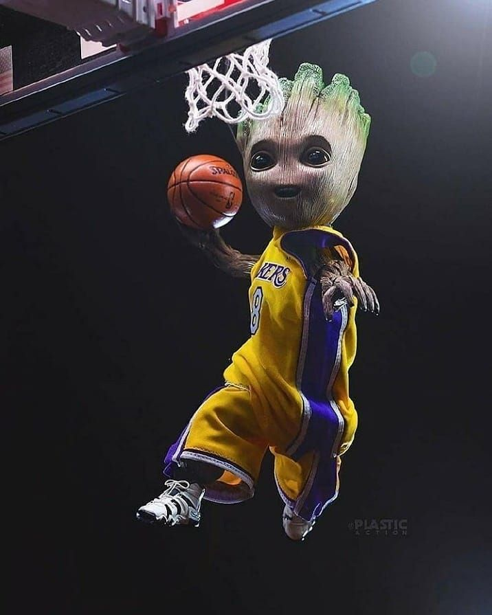 Pin By Joseph On Lakers In 2020 Baby Groot Marvel Art Groot Marvel