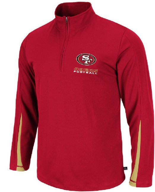 Amazon.com  NFL San Francisco 49ers Men s Read and React III Long Sleeve  Pull Over 62b8d2b69
