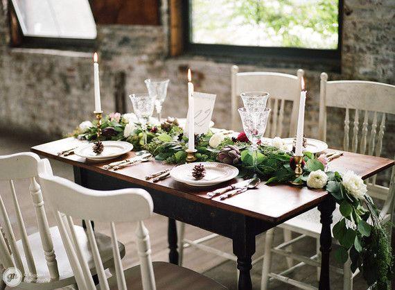 Elegant industrial winter wedding inspiration from Central ...
