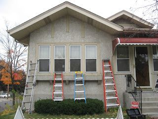 Removing Metal Awnings Before After House Exterior Modern Cottage Metal Awning