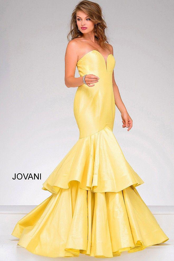 Ruffles dress pinterest yellow