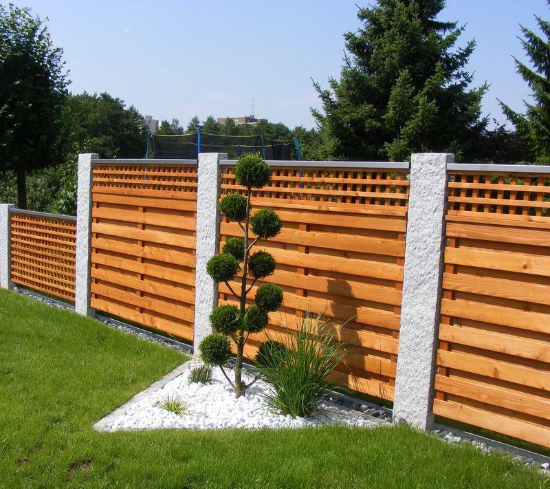 Granit Palisaden Ideen Fence Deck Und Granite