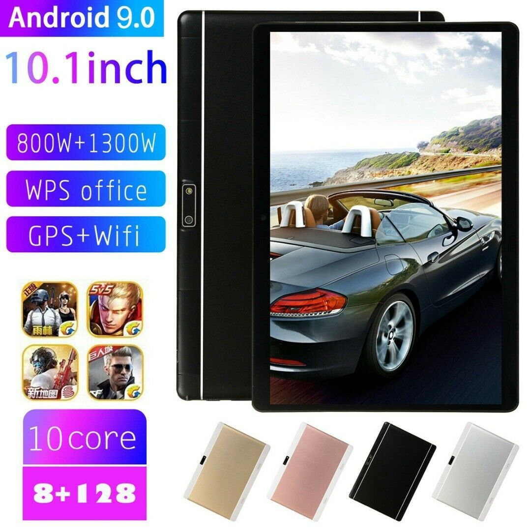 Details Zu 10 1 Zoll 8 128gb Wifi Wlan Tablet Pc 10 Core Android 9 0 Dual Kamera Sim De Dual Sim Phones Tablet Gps Tablet