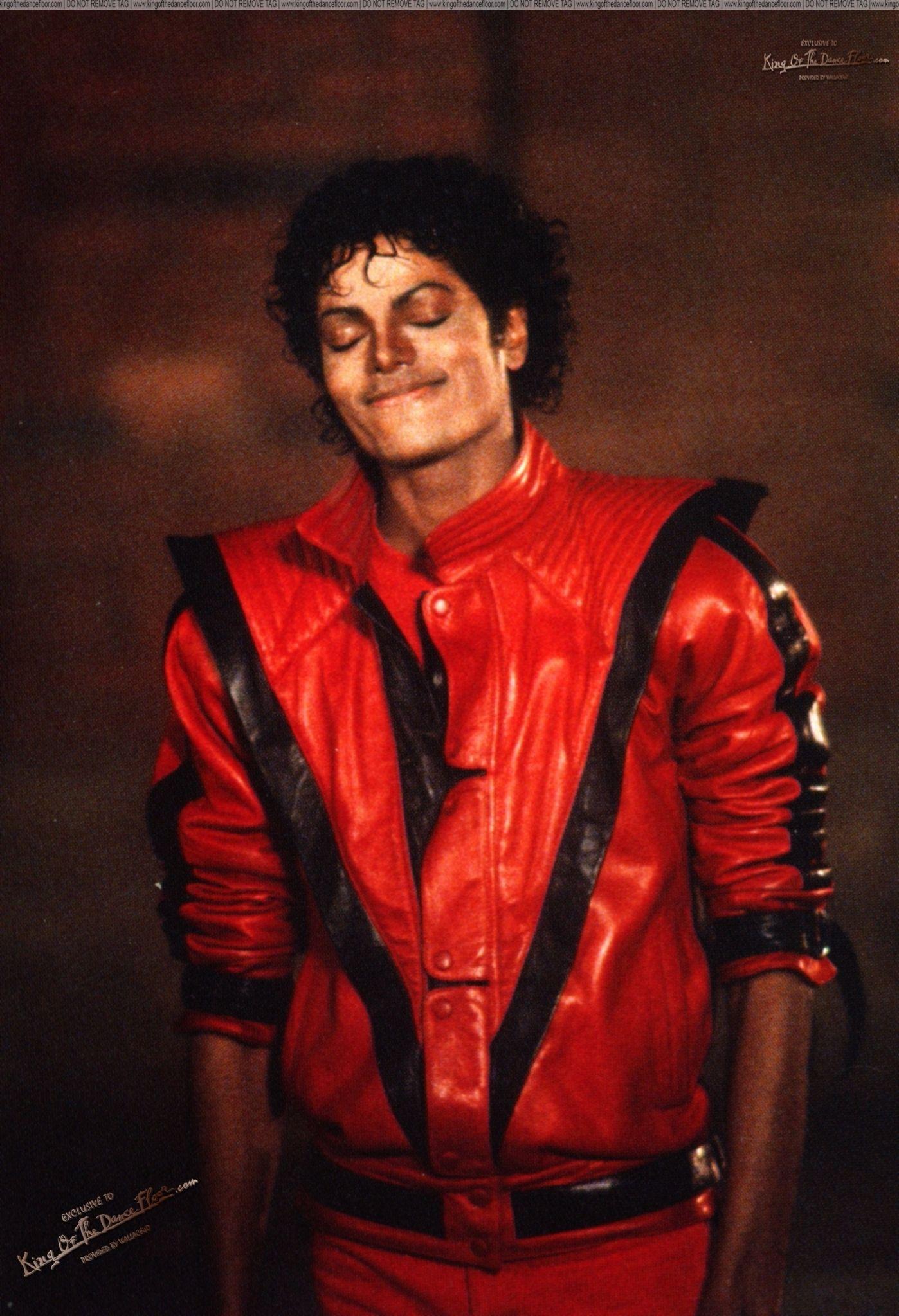 3a6ca47f MJ - The Thriller Era Photo (15876138) - Fanpop Michael Jackson, Red Leather