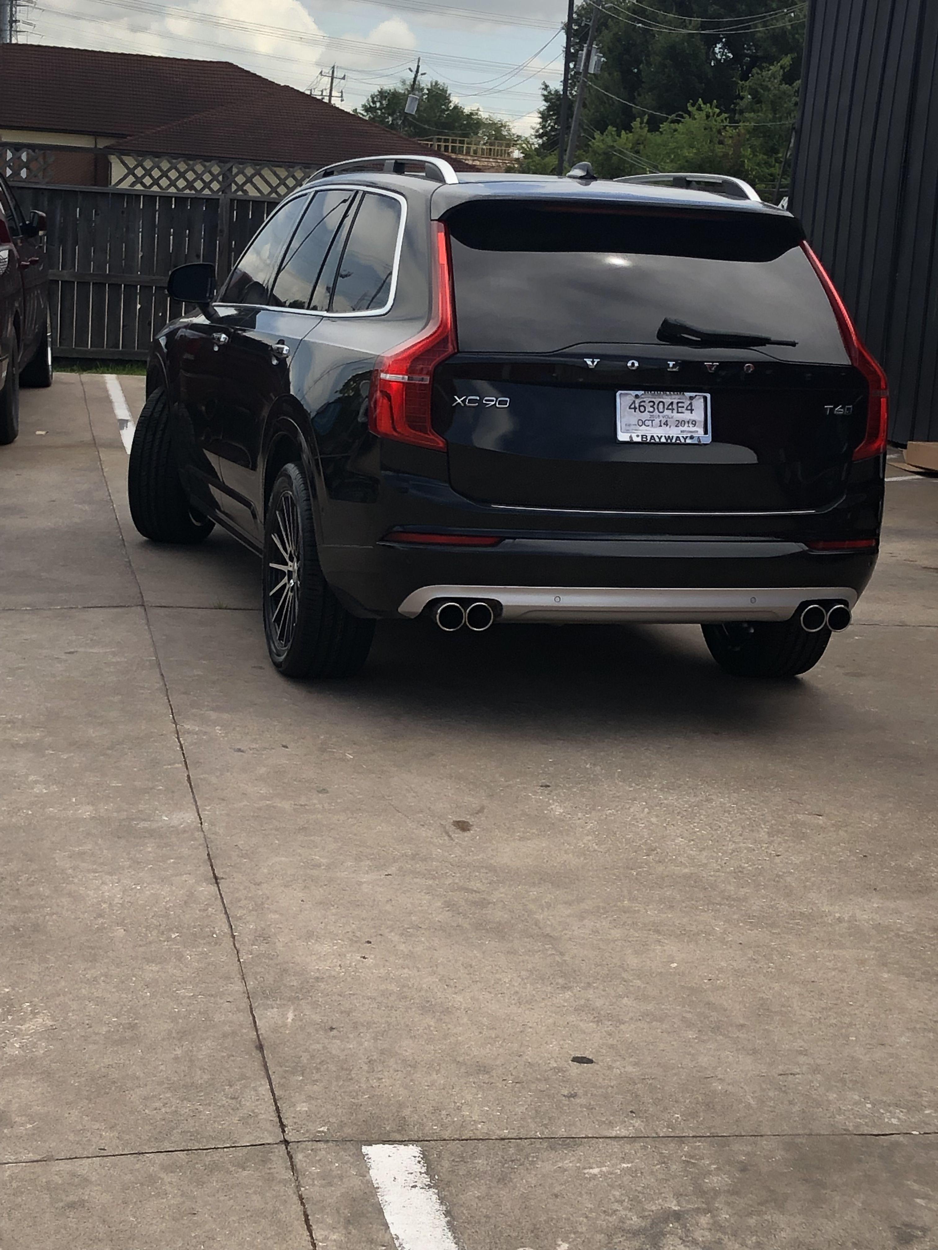 Volvo Xc90 Custom 2018 Volvo Xc90 Muffler Tire