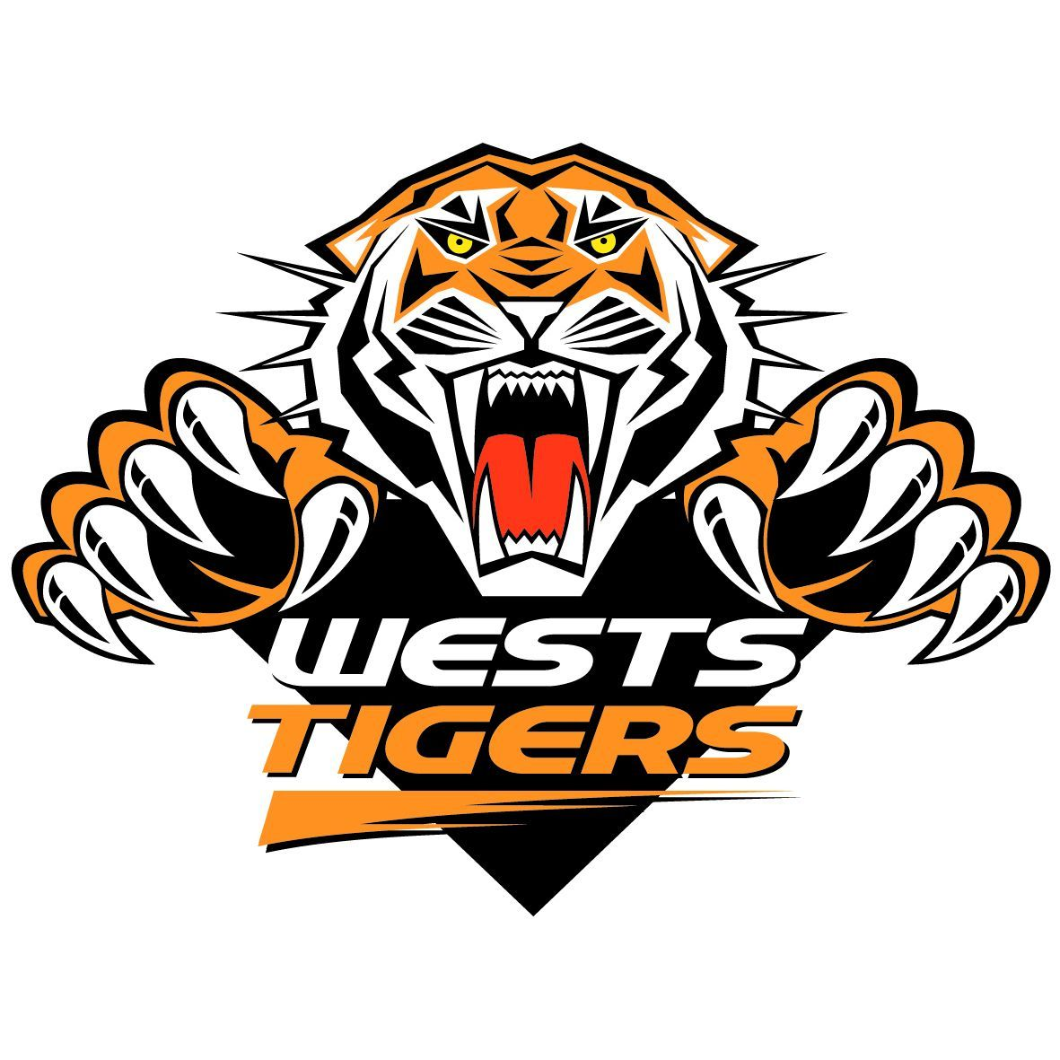 West tigers logo   Sports logos   Pinterest