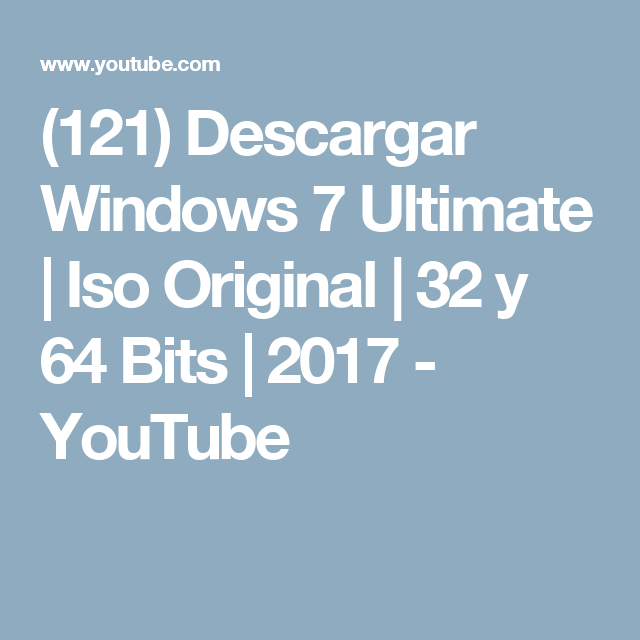 windows 7 descargar iso 32 bits