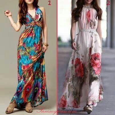 summer/ spring maxi dresses
