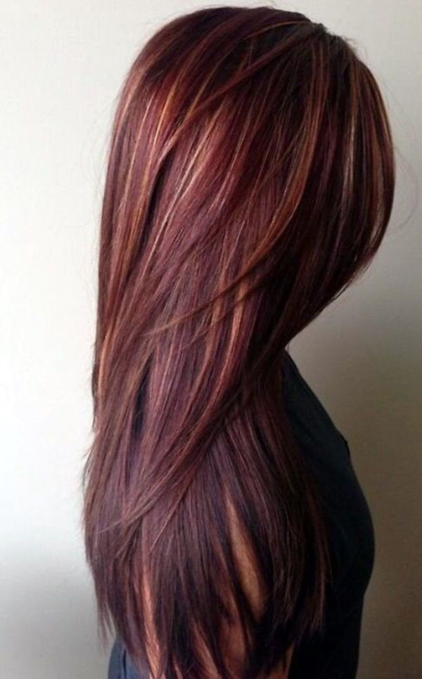 46 totally catchy burgundy hair color ideas with highlights 2017 46 totally catchy burgundy hair color ideas with highlights 2017 urmus Choice Image