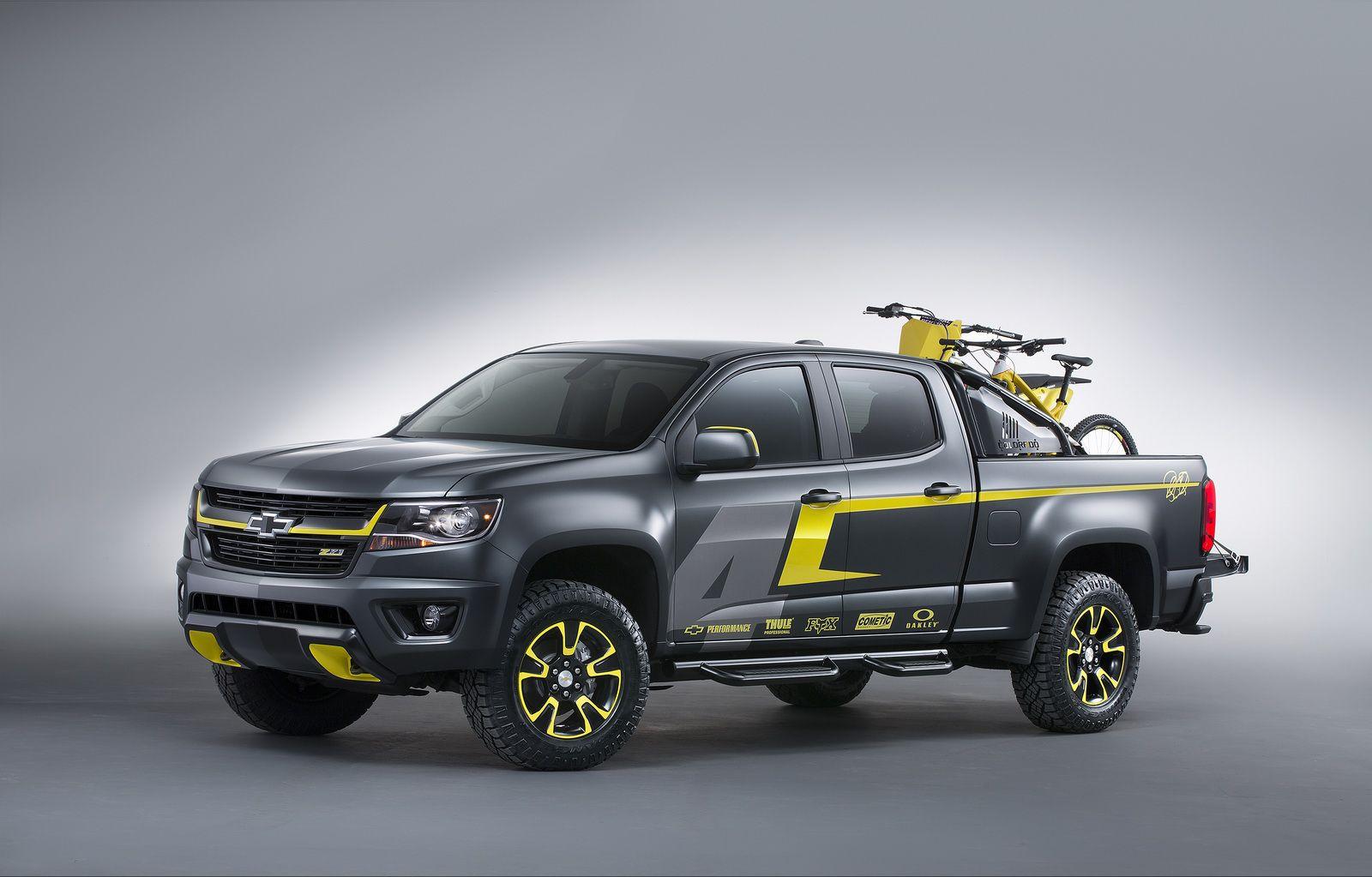 Chevrolet Unveils Colorado Performance Concept At Sema Chevrolet