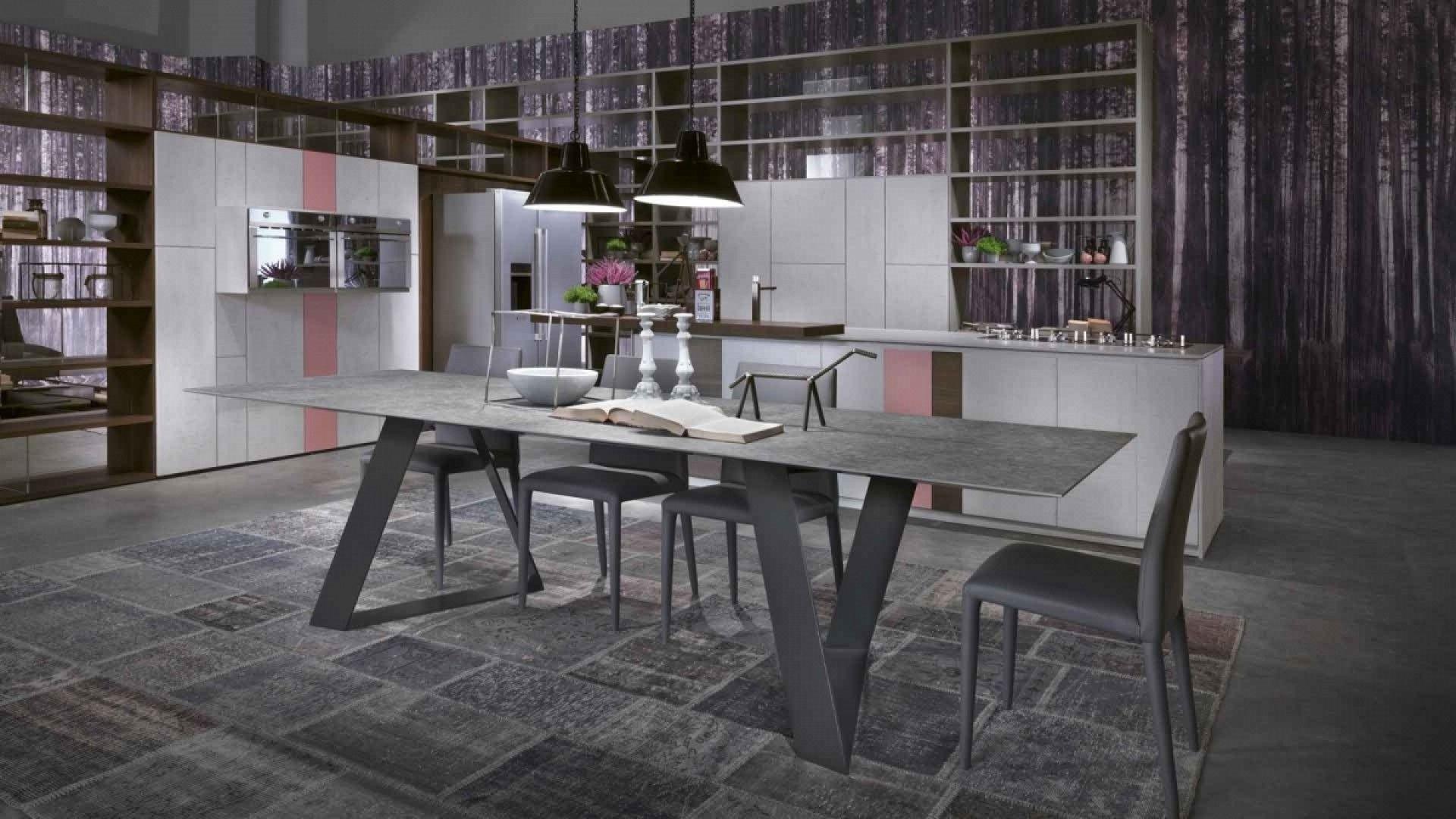 Zaffiro Elegante grintoso moderno tutto questo ¨ Zaffiro un tavolo particolarmente flessibile
