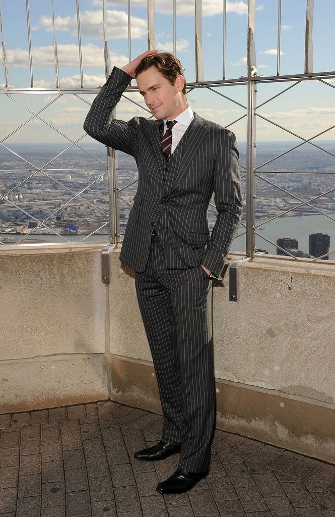 Matt Bomer and the Empire State Building. TWO favorite things in ONE pin :-)