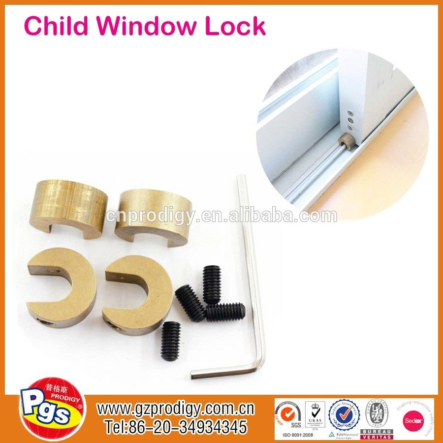 Baby Sliding Metal Window Lock Sliding Door Locks Metal