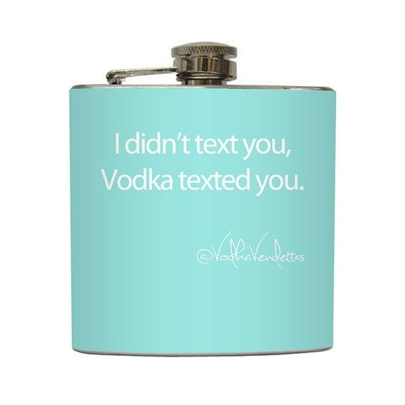 Don't drink and text ;)