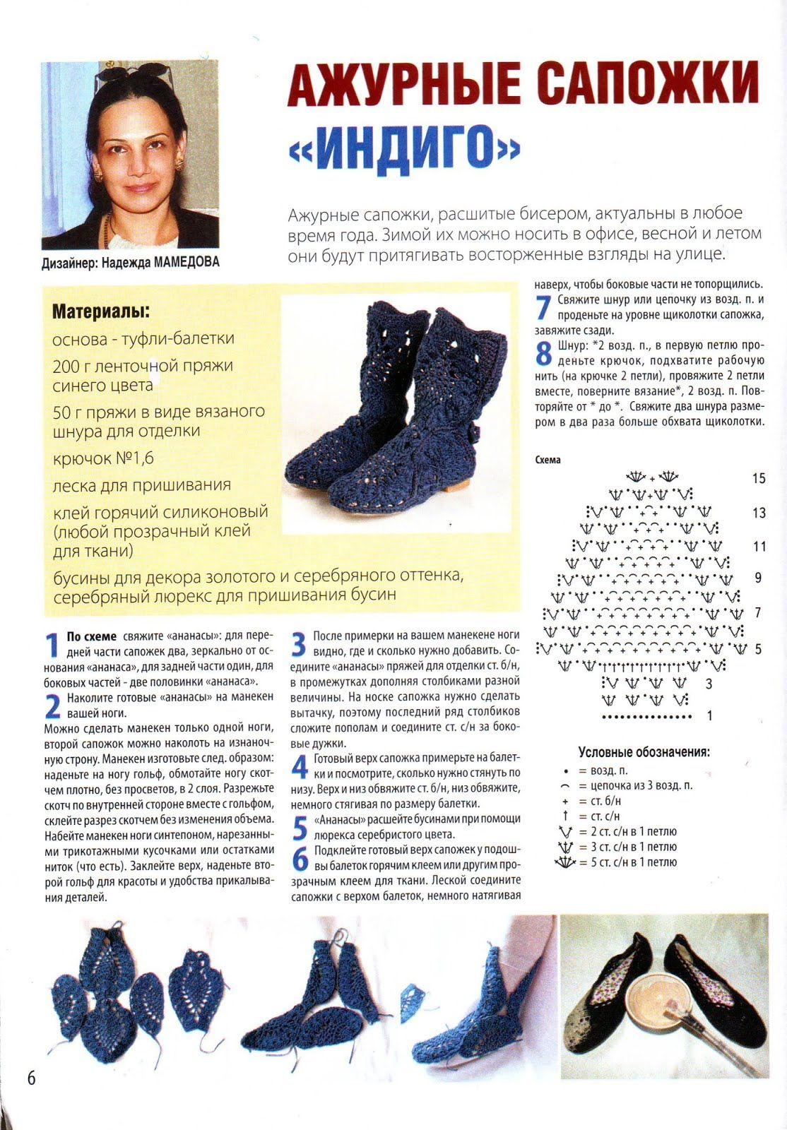Patron Crochet Botas | Shoes pattern | Pinterest | Patrones, Patron ...