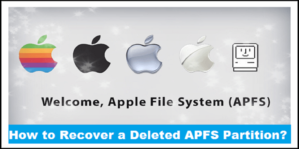 How To Recover A Deleted Apfs Partition Recover Filing System Flash Memory