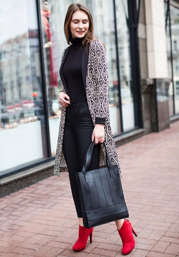 9a7fc2830759 Tote bag feminist Woman bag Work bag Zipper bag Casual bag Trending now Bags  and purse