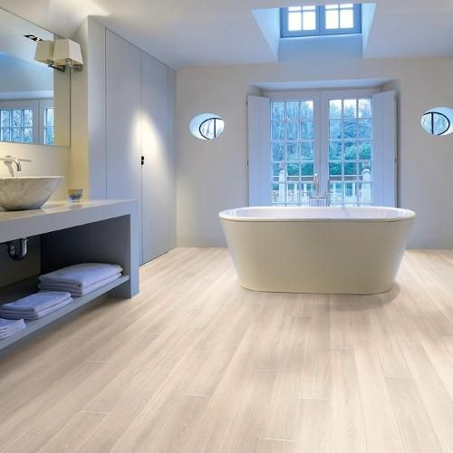 White Bathroom Laminate Flooring modern flooring for bathrooms | modern flooring, wall colors and