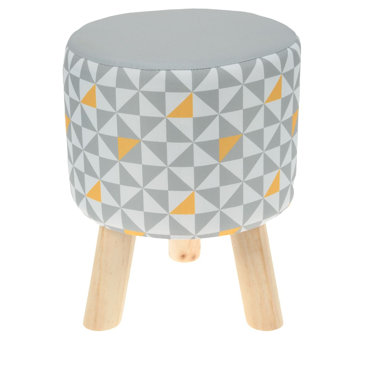 Tabouret Assise Grise Imprim E Tati Chaises Pinterest  # Tati Meuble Tv