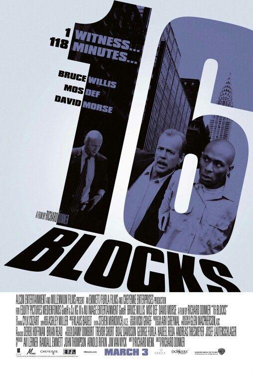 2006 16 Calles Sixteen Blocks Richard Donner Peliculas De Accion Mejores Peliculas De Accion Peliculas
